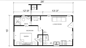 Tiny House Layout The Pequod Is A Whale Of A Tiny House For Family Of Four