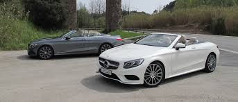 mercedes amg s500 2017 mercedes s class cabriolet and s63 amg cabriolet
