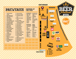 Universal Orlando Map 2015 by Tap List And Brew Map From Orlando Beer Fest Florida Beer Blog