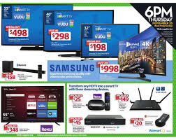 best tv sale deals black friday walmart u0027s full black friday ad now available cheap curved 4k tvs