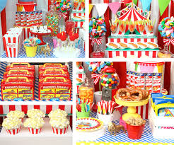 circus party ideas carnival party ideas at birthday in a box