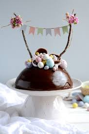 easter eggs surprises chocolate easter egg cake easter baking recipes