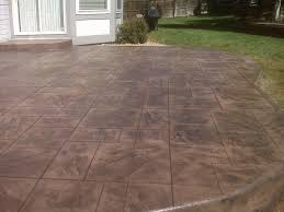 Concrete Patio Color Ideas by Home Design Backyard Stamped Concrete Patio Ideas Small Kitchen