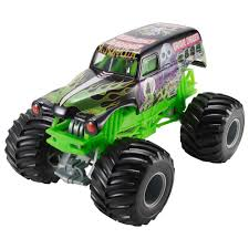 toy monster trucks racing wheels monster jam 1 24 grave digger die cast vehicle