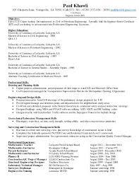 petroleum engineer resume paul khawli bilingual engineer resume