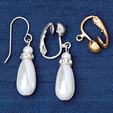 how to convert clip on earrings to pierced earrings fish hook earring converter earring converter walter