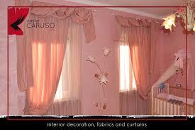 tende con drappeggio tendaggi classici con mantovana atelier tessuti arredamento