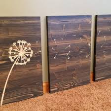wall designs distressed wood wall dandelion wall wood
