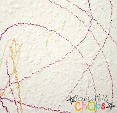 crayon on wall use shaving cream to remove crayon marks from your