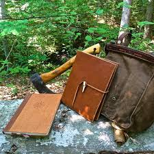 a handcrafted bushcraft journal giveaway for your journey to self