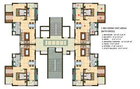 1 bhk floor plan 1 bhk apartment cluster tower layout plan n design