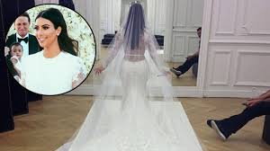 wedding dress kanye s givenchy wedding gown ripped minutes before i do