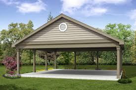 classic house plans carport 20 055 associated designs