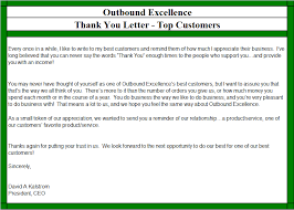 best photos of business thank you customer letter business thank