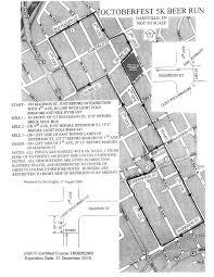 Downtown Nashville Map Nashville Striders Course Run Maps