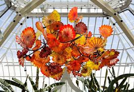 Glass Fruit Chandelier by Orange Glass Chandelier Chandelier Online