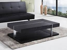 modern black end table top nice black modern coffee table with throughout contemporary
