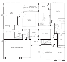 small 4 bedroom floor plans appealing small simple 4 bedroom house plans images decoration one
