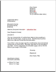 Business Letter Return Address addressing a letter with attention efficient picture 4