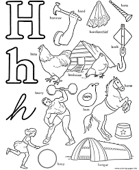 words of h alphabet s printablee972 coloring pages printable