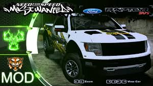 Ford Raptor 2005 Ford F 150 Svt Raptor Nfs Most Wanted 2005 Mod Youtube