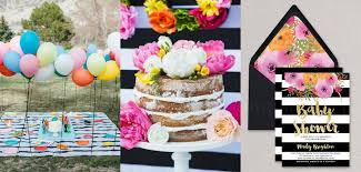 modern baby shower cool colourful baby shower ideas for thoroughly modern mums to