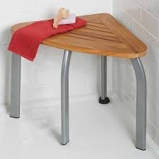 improvements teak shower seat 6925381 hsn