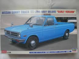 nissan sunny old model sunny truck long body model kit box