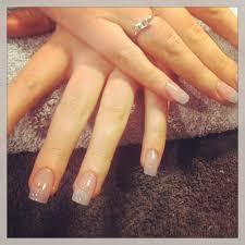 natural acrylic nails using entity nails pinterest natural