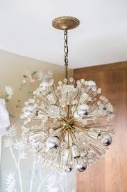 nursery light fixtures a modern glam nursery makeover emily henderson