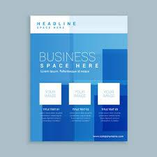 business marketing flyer brochure template download free vector