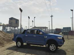 road ford ranger ford ranger 2017 road handling gta5 mods com