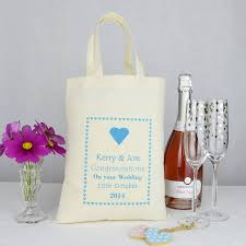 wedding gift bag personalised wedding gift bag by andrea fays