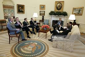 Oval Office White House President George W Bush In The Oval Office Pictures Getty Images