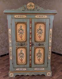 Wohnzimmerschrank Chalet Voglauer Anno 1900 Sekretär Bauernschrank Glas Vitrine Landhaus