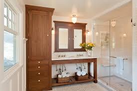Medicine Cabinet Storage Linen Cabinet Fashion San Francisco Traditional Bathroom
