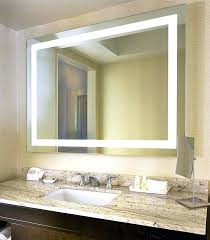 Led Light Mirror Bathroom Bathroom Light Mirror Square Led Bathroom Mirror Lighted Bathroom