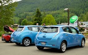 nissan leaf lease seattle the electric vehicle road trip test motor trend