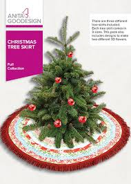 christmas tree skirt anita goodesign