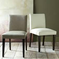 porter leather dining chair elephant west elm