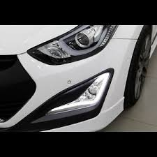 hyundai elantra daytime running lights led daytime running light drl fog l for hyundai elantra 2014