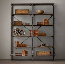 Industrial Looking Bookshelves by Best 25 Library Shelves Ideas On Pinterest Library Bookshelves