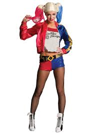 halloween costume accessories wholesale deluxe squad harley quinn costume costumes woman