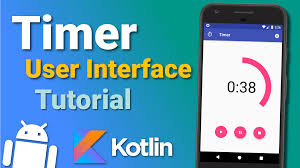 tutorial android user make a timer app user interface ep 1 android kotlin tutorial