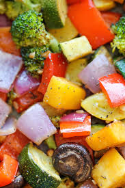 roasted vegetables damn delicious