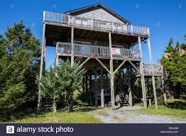 Beach House On Stilts Outer Banks Avon North Carolina House Near The Beach Built On