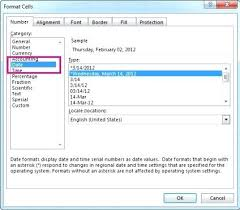 format date in excel 2007 date formats excel carsaefc club