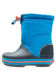 crocs light up boots crocs crocband lodgepoint boots ocean navy kids shoes zappos crocs