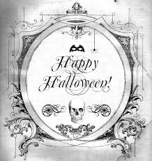 happy halloween printables halloween free printable for transfers prints tags anything at all