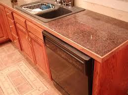 kitchen countertop tile design ideas stunning granite tile countertop decorating ideas for kitchen